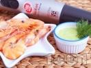 Снимка на рецепта Домашна майонеза с копър за хрупкави скариди